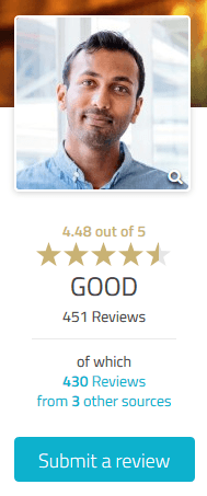 Get reviews and ratings from visitors to your ProvenExpert profile
