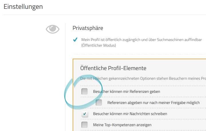 Neue Privatsphäre-Einstellung bei ProvenExpert