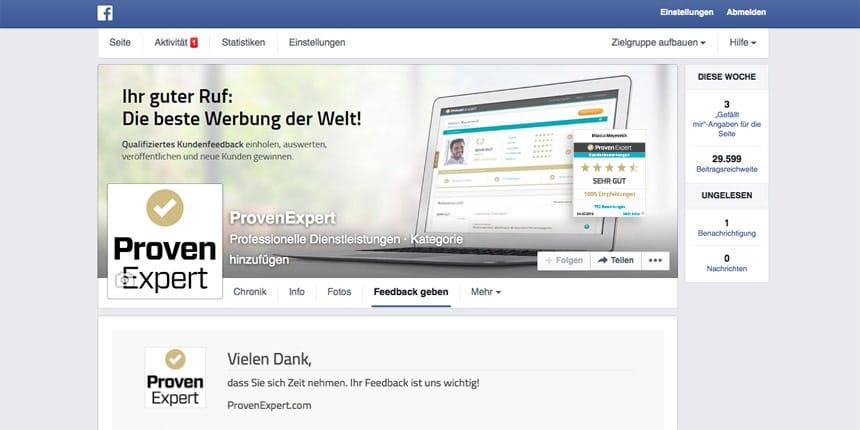 Geschafft! Ihre Facebook-Kundenumfrage ist fertig eingerichtet und steht Ihren Kunden nun zur Verfügung.
