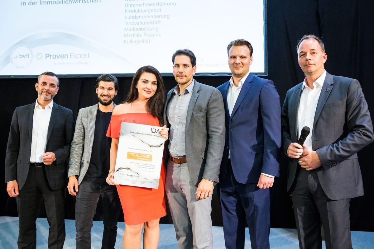 IDA-Award-Verleihung auf der dim 2017