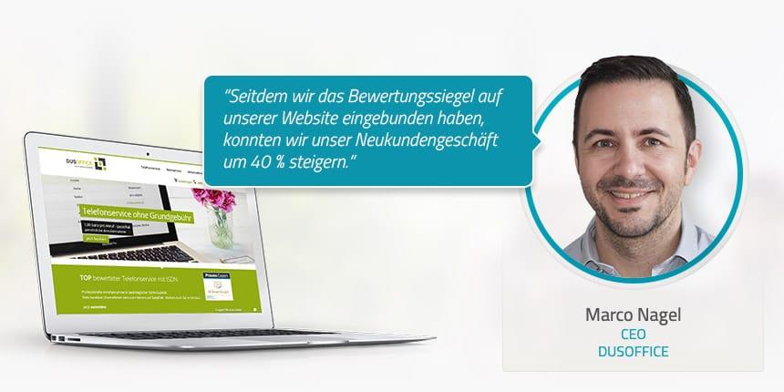 Kundeninterview mit Marco Nagel