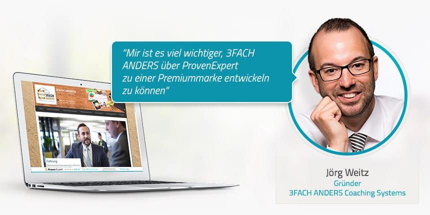 Kundeninterview mit Jörg Weitz