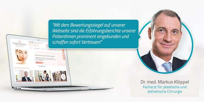 Kundeninterview mit dem plastischen Chirurgen Dr. med. Markus Klöppel