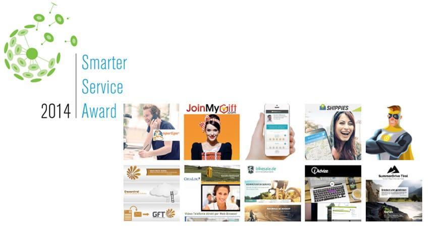 Smarter Service Award: Die zehn Finalisten