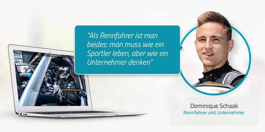 Dominique Schaak - Rennfahrer und Unternehmer