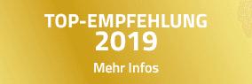 TOP-EMPFEHLUNG 2019