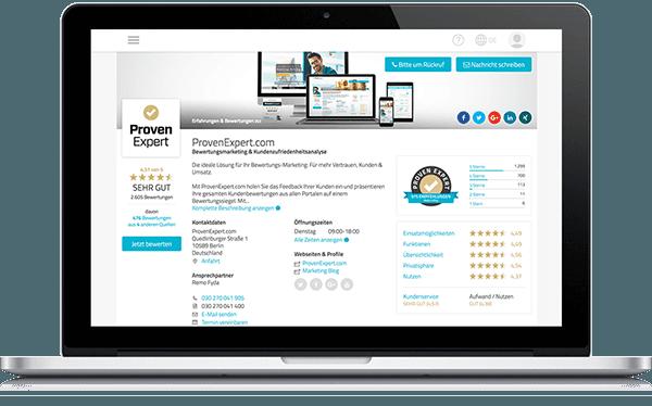 ProvenExpert.com Profil