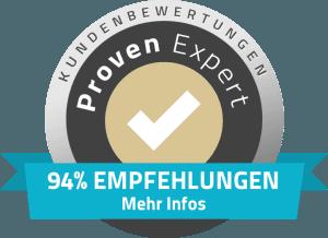 94% Empfehlungen