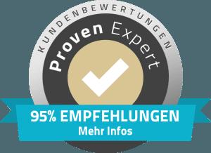 95% Empfehlungen