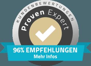 96% Empfehlungen