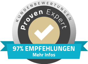 97% Empfehlungen