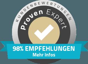 98% Empfehlungen