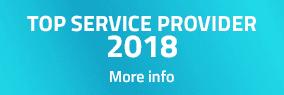 TOP SERVICE PROVIDER 2018