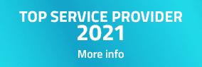 TOP SERVICE PROVIDER 2021
