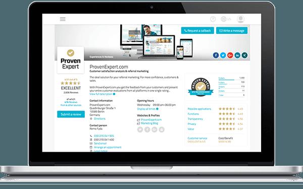 ProvenExpert.com profile