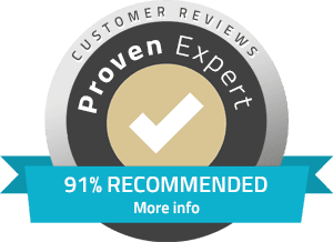 91% Recommended