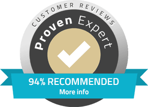 94% Recommended