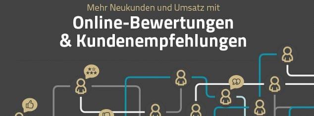 Infografik: Online-Bewertungen und Kundenempfehlungen