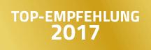 TOP-Empfehlung 2016