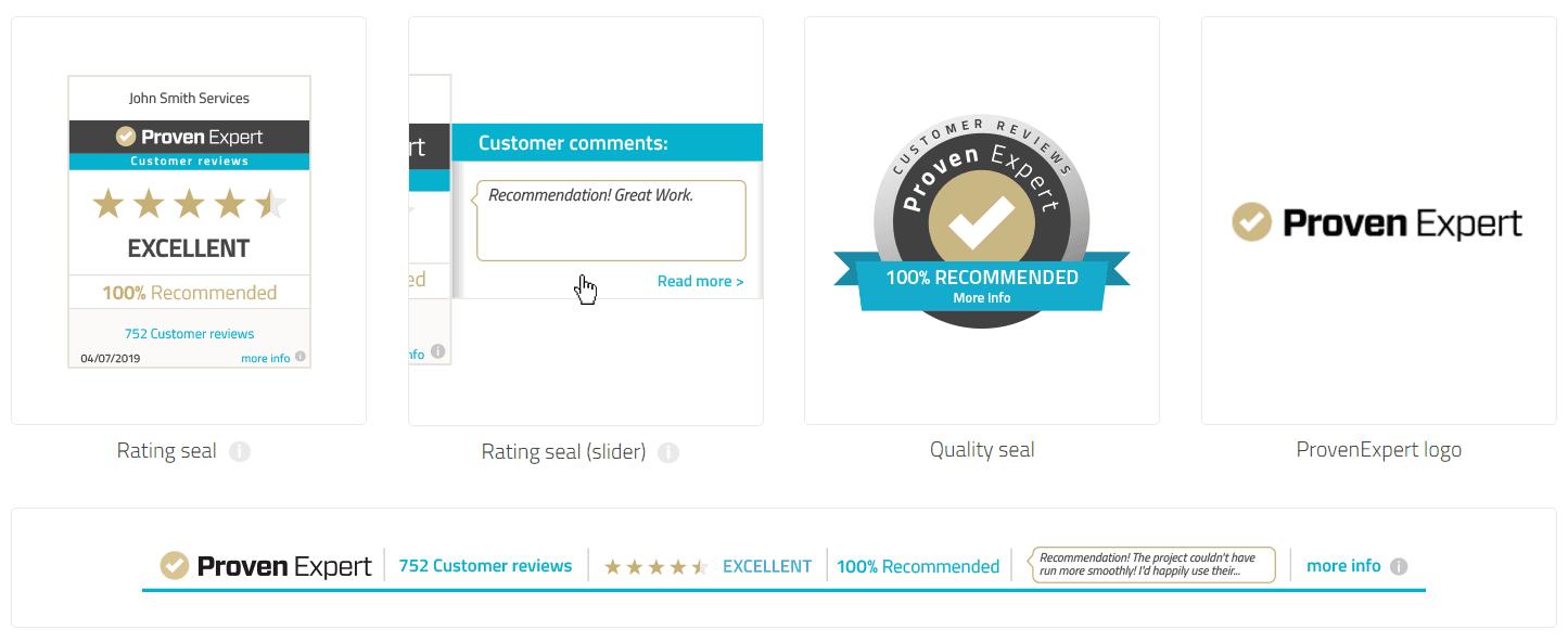 Edit rating seal