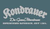 Kondrauer Mineralbrunnen logo